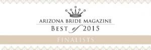 Arizona Bride Magazine Best of 2015