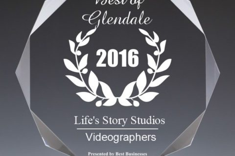2016 Best Videography Business of Glendale