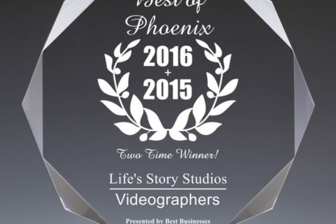 2016 Best Videography Business of Phoenix