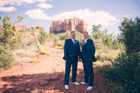 sedona wedding photographers | robert+ray